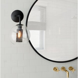 Great Price Marjorie 1-Light Armed Sconce By 17 Stories