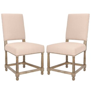 Cerys Upholstered Dining Chair (Set of 2) by One Allium Way
