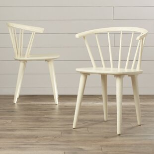 August Grove Dora Grove Solid Wood Dining Chair (Set of 2)