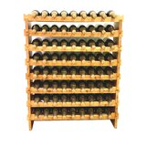 Apollonia 72 Bottle Floor Wine Bottle Rack by Rebrilliant