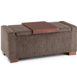 Alisha Storage Ottoman by Union Rustic