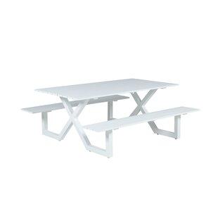 Gingrich Aluminium Picnic Bench Image