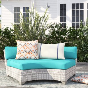 Falmouth Patio Sofa with Cushions