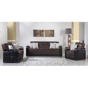 4 Comments Reviews About Orren Ellis Roreti 2 Piece Sleeper Living Room Set