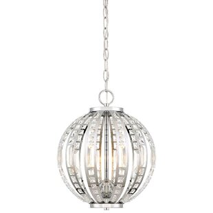 Kenton 4-Light Pendant by Everly Quinn