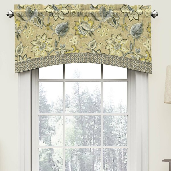 Waverly Brighton Blossom 52 Arched Curtain Valance Reviews