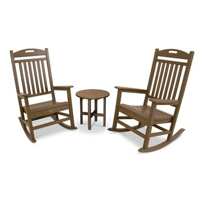 Yacht Club Rocker 3 Piece Seating Group Trex Outdoor