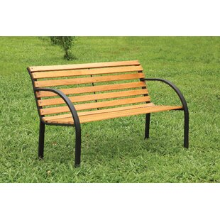 Upper Vobster Patio Metal Park Bench by Millwood Pines