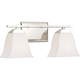 Highland Dunes Haslett 2-Light Vanity Light
