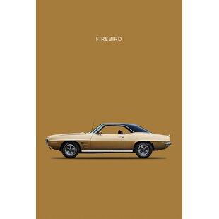 '1969 Pontiac Firebird' Graphic Art Print on Canvas ByEast Urban Home