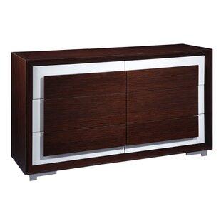 Cj 6 Drawer Double Dresser