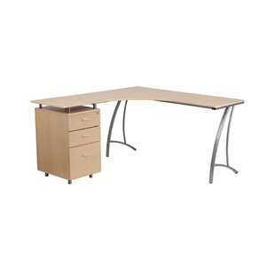 Brayden Studio Sickels L-Shape Desk