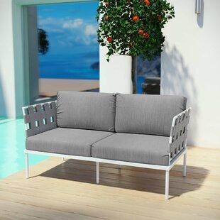 Brayden Studio Darnell Outdoor Patio Love Seat
