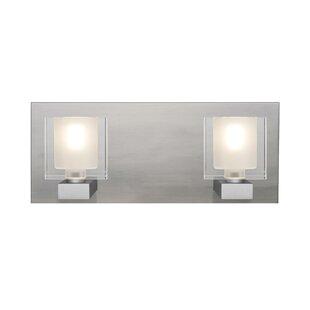 Ebern Designs Rockwell 2-Light Bath Bar