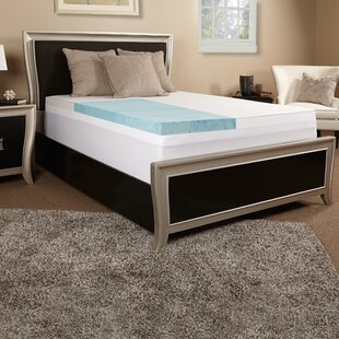 3 Gel Memory Foam Mattress Topper by Luxury Solutions