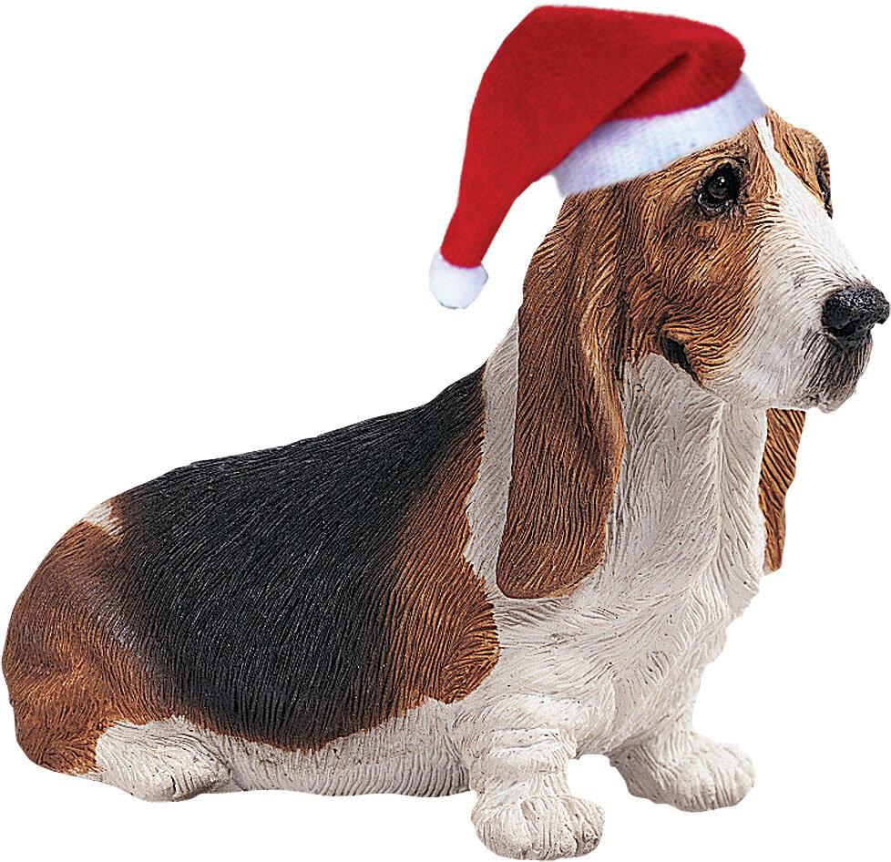 Sandicast Basset Hound Christmas Ornament & Reviews | Wayfair