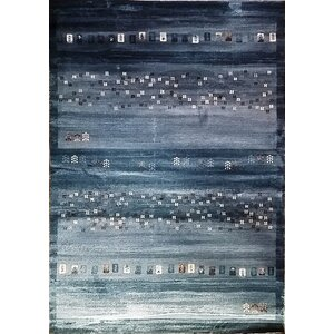 Latisha Dark Blue Area Rug
