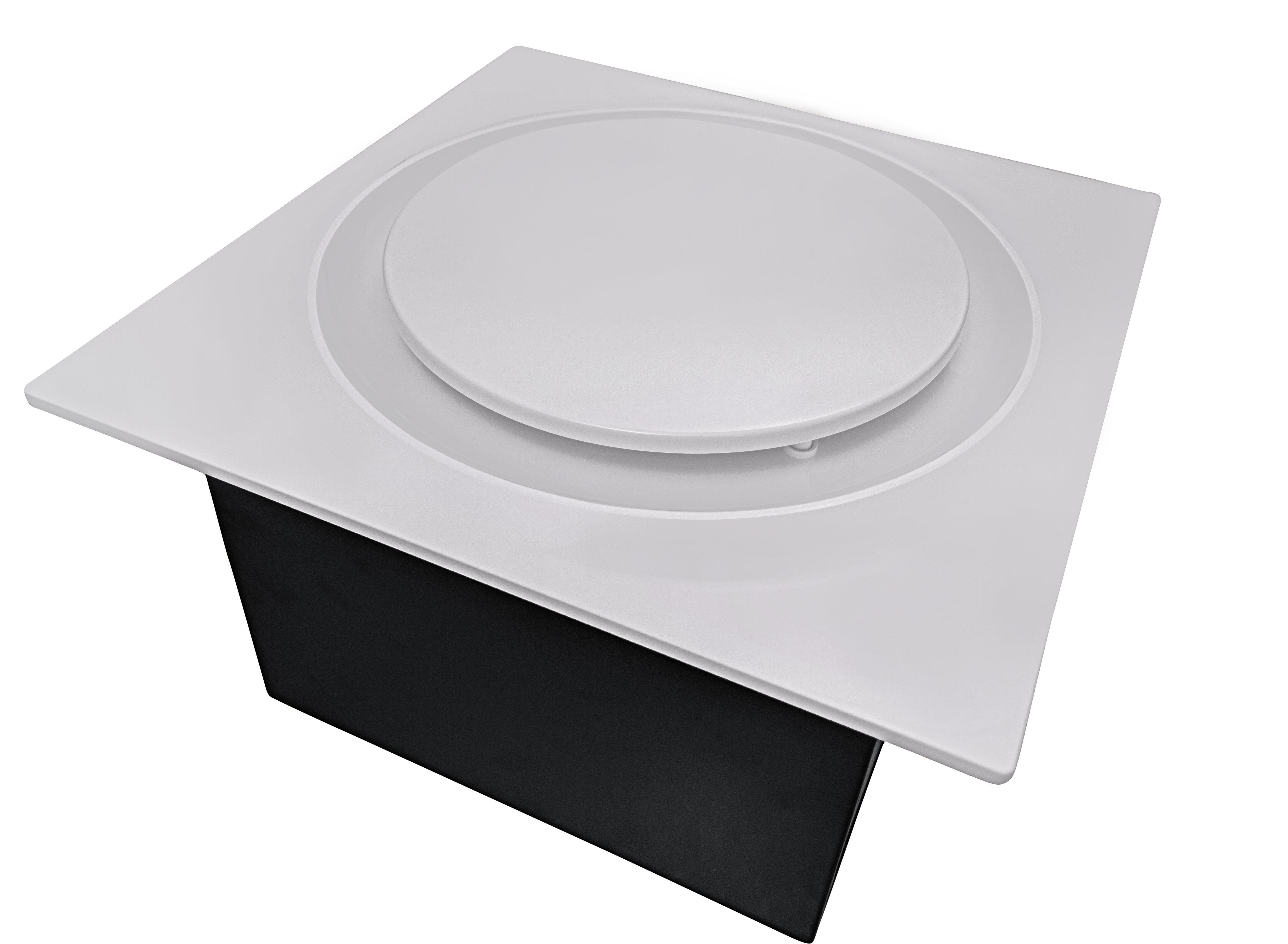 ABF110DH G6 W 110 CFM Energy Star Bathroom Fan With Humidity Sensor
