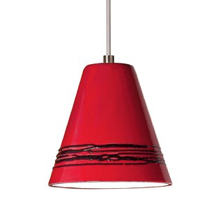 A19 Strands 1-Light Cone Pendant