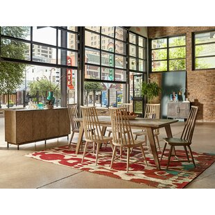 Coleman 7 Piece Dining Set Union Rustic