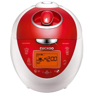 6-Cup Pressure Rice Cooker by Cuckoo Electronics Best Design