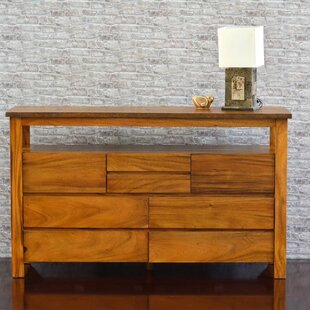 222 Fifth Furniture Cayu Live Edge 8 Drawer ..