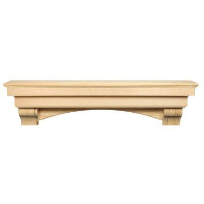 The Auburn Fireplace Shelf Mantel Pearl Mantels