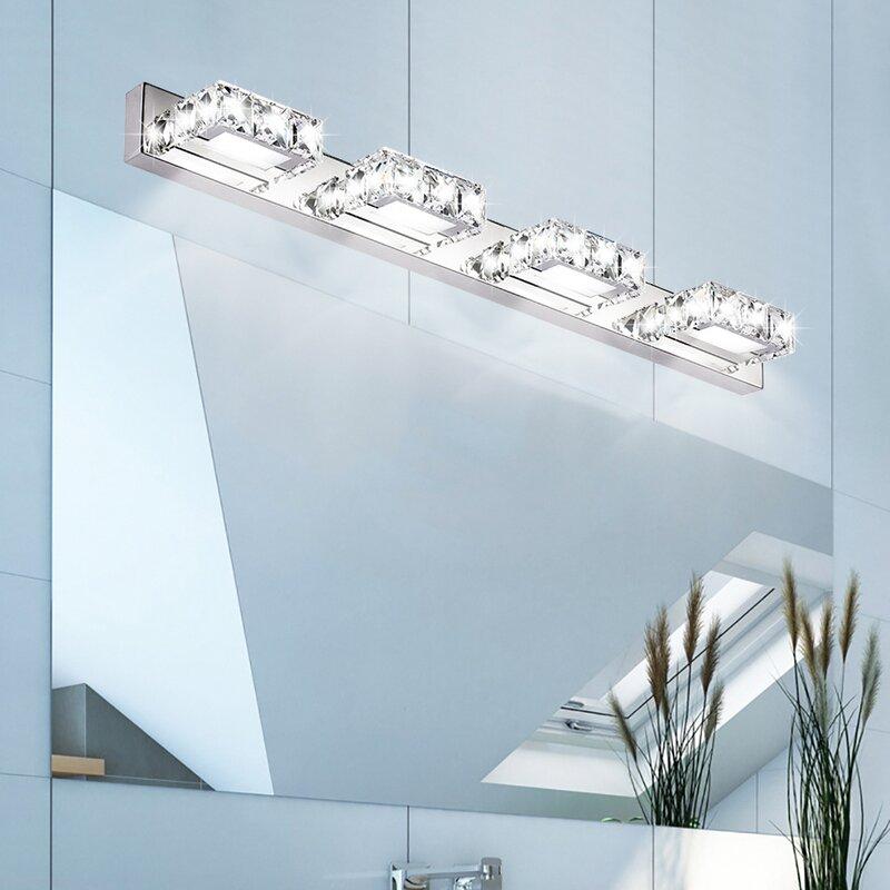 Rosdorf Park Mccammon 3 Light White Bath Bar Wayfair