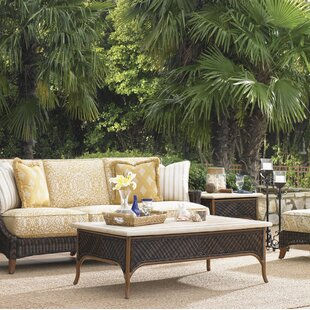 Island Estate Lanai Wicker Coffee Table