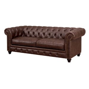 Lindstrom Tufted Chesterfield Sofa by Darby Home Co