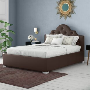 Diamante Upholstered Bed Frame By Canora Grey
