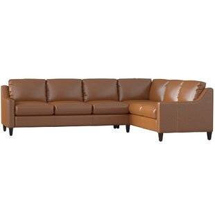 DwellStudio Jesper Leather Sectional