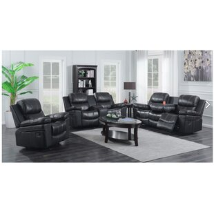 Ulmer 3 Piece Living Room Set by