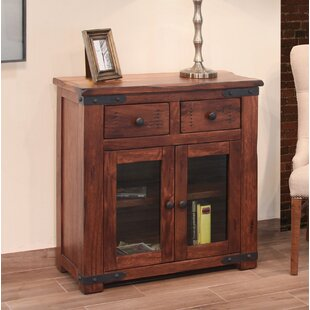 Guzzi 2 Drawer 2 Glass Door Sideboard Williston Forge