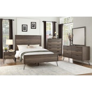Union Rustic Borman Queen Panel Bed