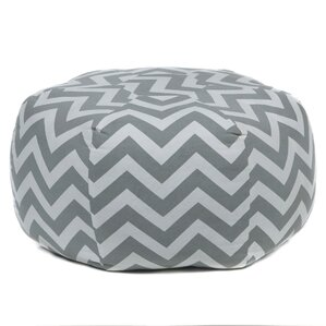 Buchanan Textured Contemporary Printed Pouf by Rosecliff Heights