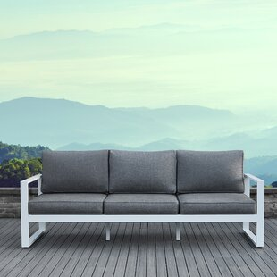 Baltic Patio Sofa with Cushions by Real Flame