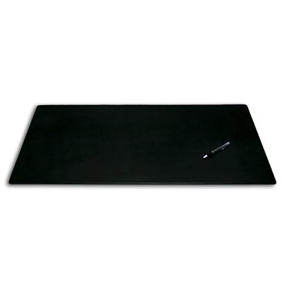 1000 Series Classic Desk Leather Mat without Rail Dacasso Finish Black