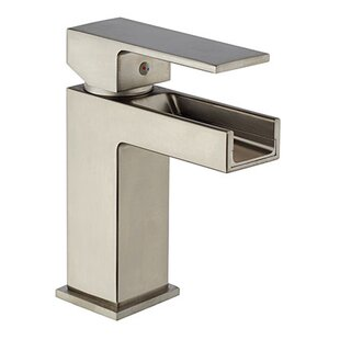 LaToscana Dax Waterfall Bathroom Faucet with Drain Assembly
