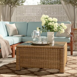 Order Lawson Wicker Square Coffee Table ByBirch Lane™