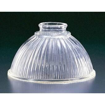 Volume Lighting 4 25 H Glass Novelty Pendant Shade Screw On In White Wayfair
