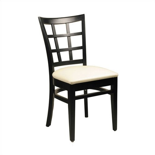 Superbe Lattice Back Side Chair