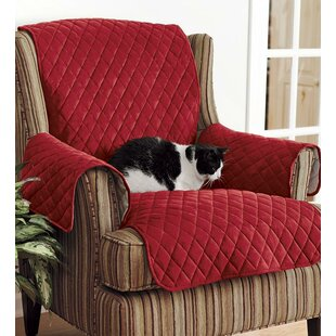 Personalized Box Cushion Arm Chair Slipcover by Plow & Hearth
