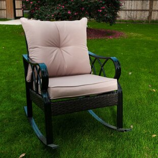 Weslaco Rocking Chair with Cushions by Winston Porter