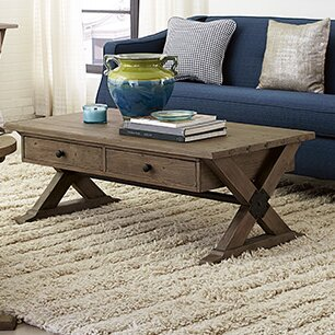 Samar Coffee Table by 17 Stories