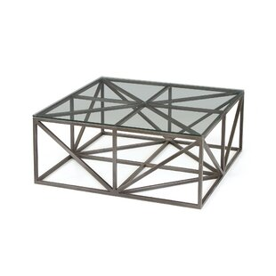 Armistead Square Glass Coffee Table by Wrought Studio