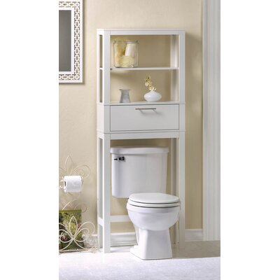 vogue saver 2375 w x 52 h over the toilet storage