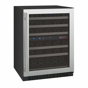 56 Bottle FlexCount Series Dual Zone Convertible Wine Cooler