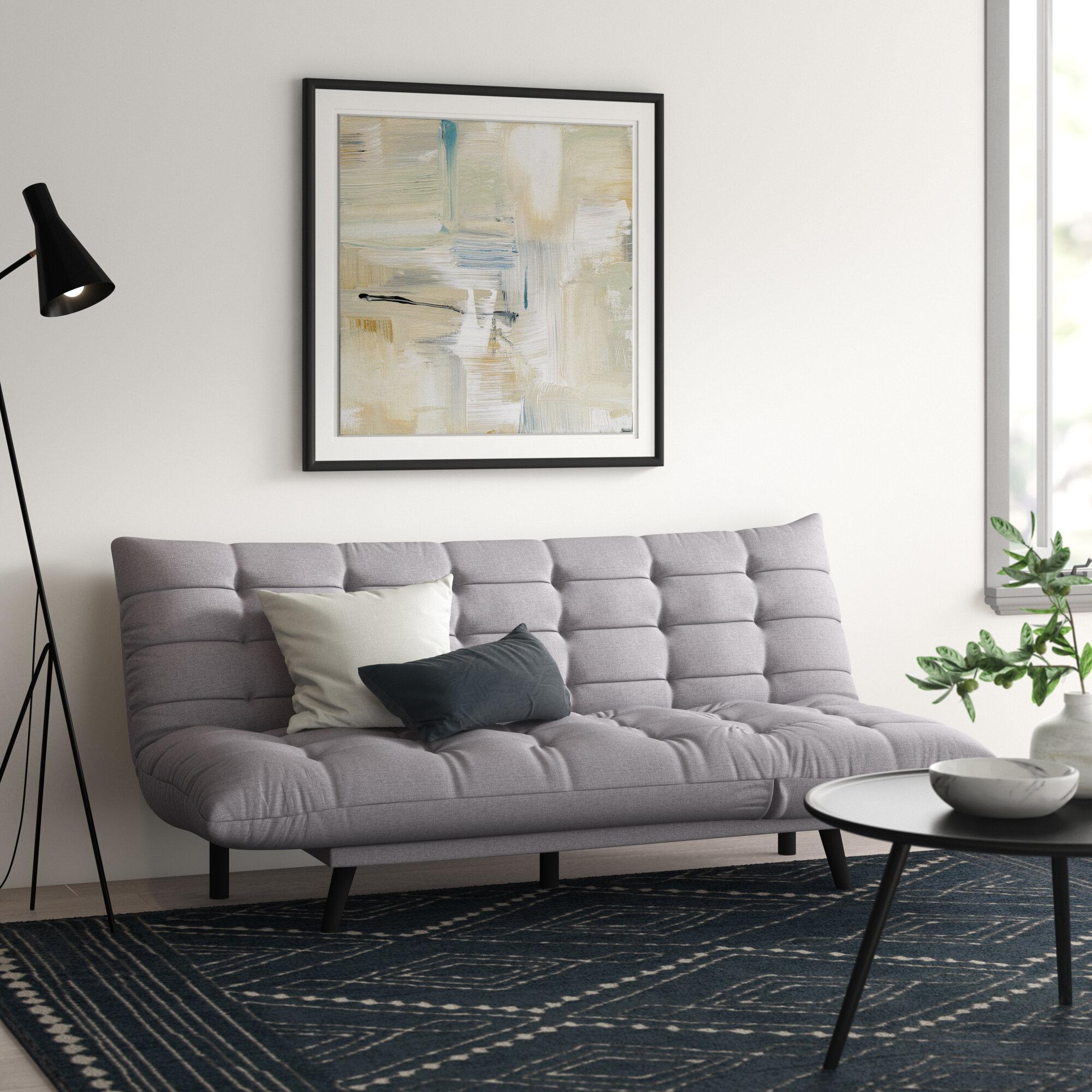 Ebern Designs Stalbridge 72 Armless Sofa Bed Reviews