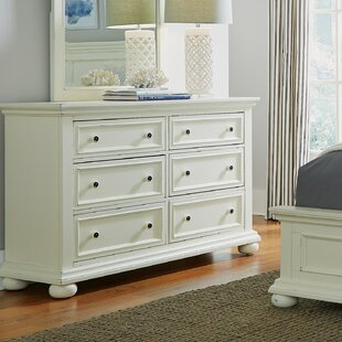 Alcott Hill Krogman 6 Drawer Double Dresser